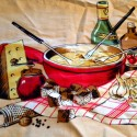 Alpine Cheese Fondue – A Family Tradition