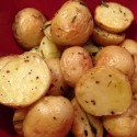 Roasted Potatoes All Dressed Up