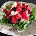 Mouthwatering Watermelon and Arugula Salad