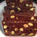 "Chocolate, Cranberry and Pistachio ""Slices"""