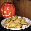Soft Pumpkin, Chocolate and Nut Cookies