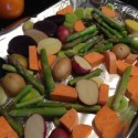 Colorful Roasted Vegetable Side Dish